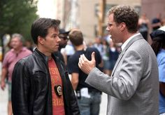 """Terry Holtz (Mark Wahlberg): """"I don't like you… If I were a lion and you were a tuna, I'd swim out into the ocean and EAT YOU! And then bang your tuna wife.""""    Allen Gamble (Ferrell): """"OK, first off: a lion, swimming in the ocean. Lions don't like water. If you placed it near a river or some sort of fresh water source, that make sense. But you find yourself in the ocean, 20 foot wave, I'm assuming off the coast of South Africa, coming up against a full grown 800 pound tuna with his 20 or 30…"""
