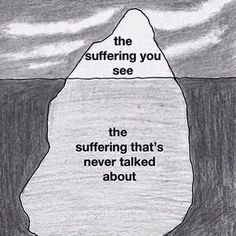 """suffering in silence"".If I see some one slightly wince - I should be aware of their deeper pain. Infp, Myasthenia Gravis, Suffering In Silence, My Demons, Invisible Illness, Personality Disorder, Chronic Pain, Chronic Illness, Grief"