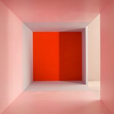"just-good-design: ""Erin O'Keefe - Empty Pink Grey Red Side Light Shadow "" Theme Color, Red Colour, Mode Poster, Color Stories, Color Theory, Light And Shadow, Oeuvre D'art, Pink Grey, Red And Pink"
