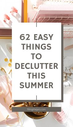 Declutter, simplify and organize your home. Jump-start your clutter-busting efforts with this room-by-room decluttering ideas list. Easy tips to dump the overwhelm of too much stuff. Be ready to welcome friends and family to your clutter-free and comfortable home. Declutter Your Home, Organizing Your Home, Minimalism Meaning, Decluttering Ideas, Slow Living, Create Space, Feeling Overwhelmed, Home Free, Minimalist Home