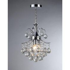 Warehouse of Tiffany Arden Victorian 3-Light Crystal Chrome Chandelier-RL2198 at The Home Depot $115.60