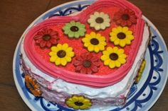 Mascarponetaart - mascarpone - strawberry cake