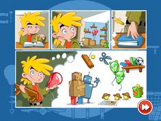 Does Amazing Alex have ADHD? This was the question I found myself asking during the opening comic strip sequence of Rovio's new game, Amazing Alex. News Games, Video Games, Adhd Kids, Games For Kids, Comic Strips, Family Guy, Comics, Amazing, Fictional Characters