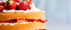 Mansikkakakku on klassikko. Vanilla Cake, Cheesecake, Monet, Desserts, Food, Tailgate Desserts, Deserts, Cheese Cakes, Eten