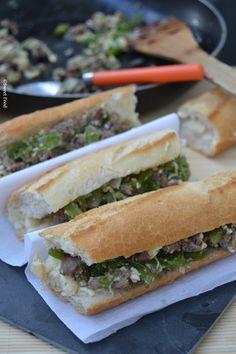 Sandwich express viande hachée