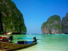 Maya Bay aka The Beach, Thailand #travel