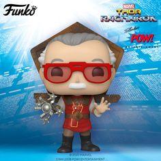 Marvel: Stan Lee in Ragnarok Ac Dc, Dragon Ball Z, Stan Lee Funko Pop, Funko Pop Yourself, Naruto, Batman, Hulk Spiderman, Figurine Pop, Captain Marvel