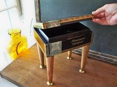 upcycled cigar boxes | Cigar Box Table
