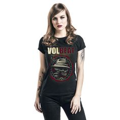 Volbeat  T-Shirt  »Beyond Hell & Above Heaven« | Buy now at EMP | More Band merch  T-shirts  available online ✓ Unbeatable prices!