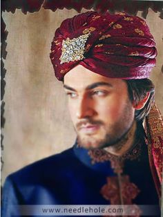 Pakistani and Indian Wedding Turbans, Groom Turbans, Reception Turbans - Needlehole.com Shop Online
