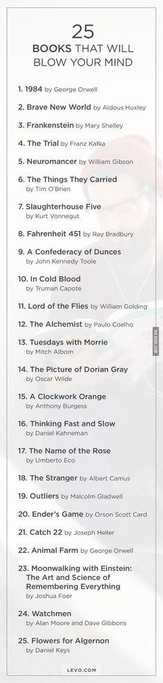 I love book lists of all kinds- and this one says it'll blow our minds! I Love Books, Good Books, Books To Read, Ya Books, Amazing Books, Reading Lists, Book Lists, Reading Challenge, Book Challenge