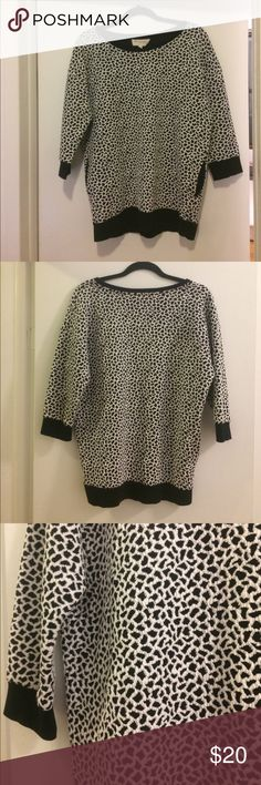 I just added this listing on Poshmark: VINCE CAMUTO Leopard 3/4 Sleeve Shirt. #shopmycloset #poshmark #fashion #shopping #style #forsale #Two by Vince Camuto #Sweaters
