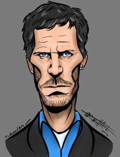My Caricature of Dr. House/ Hugh Lowry!  Make sure to subscribe to my newsletter at TimMichaelArts.com for discounts on caricatures and illustrations!  Also check me out on YouTube @TimMichaelArts and become one of over 1,300 of my subscribers!  God Bless!
