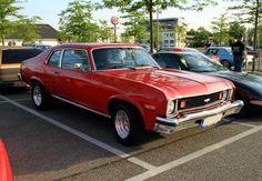 1974 nova | Chevrolet nova coupe de 1974 (Rencard du Burger King mai 2011) 01