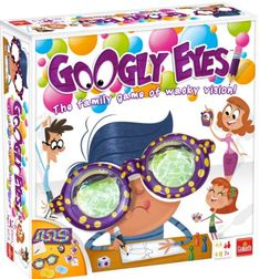 Googly Eyes is the hilarious family game that challenges your vision and leaves you googling for more! Put on the zany vision-altering google eye glasses and start to draw while your team tries to gu...