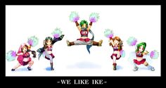 'We Like Ike' - Fire Emblem fan art  This is one of the best things ever. xD