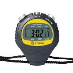 Steren Water Resistant Stop Watch Track Football Baseball Soccer Racing