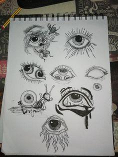 Arte Grunge, Grunge Art, Cool Art Drawings, Art Drawings Sketches, Drawings About Love, Hippie Painting, Trash Art, Art Diary, Arte Sketchbook