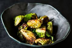 Momofuku's Roasted Brussels Sprouts with Fish Sauce Vinaigrette from Food52.com