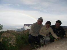 Belleza de paisaje.  Arco iris Roraima
