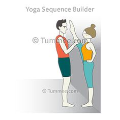 flying locust pose plank pose partner yoga vimana