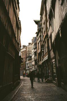 Rouen, France on 35mm film