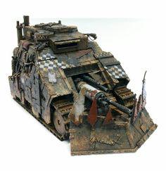 Ork Kill Blasta Tank Tabletop, Warhammer Figures, Buggy, Warhammer 40000, Paint Schemes, Panzer, Military Vehicles, Future Tanks, Gaming