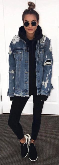Jackets & Coats Basic Jackets Aspiring Women Spring And Autumn Korean Edition Bf Loose Style Short Ins Jeans Coat Girls Denim Jacket Ladies Tops