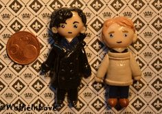Polymer Clay: Sherlock and John [Sherlock BBC] by WolfieInLove on ...