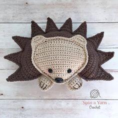 Hedgehog Amigurumi Free Crochet Pattern • Spin a Yarn Crochet