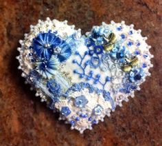 Crazy Quilt Heart Pin 6