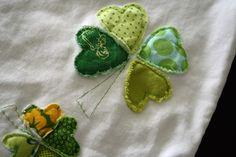 DIY 4 leaf Clover Chic Tee (NOT a shamrock) - iCandy handmade