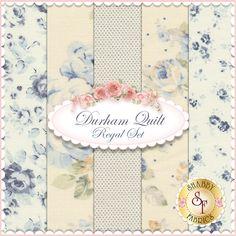 Durham Quilt  5 FQ Set - Regal Set for Lecien Fabrics