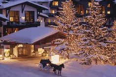 Vail, Colorado, Miss those sleigh rides <3