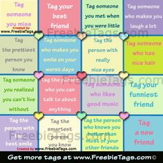 Friend Tags for Facebook | Tag your friends with nice Facebook tag photos