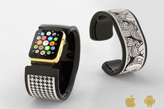 Bracelite is Interactive E-Paper Apple Watch Band