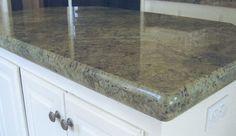 Countertop Edges on Pinterest Countertops, Granite and Natural ...