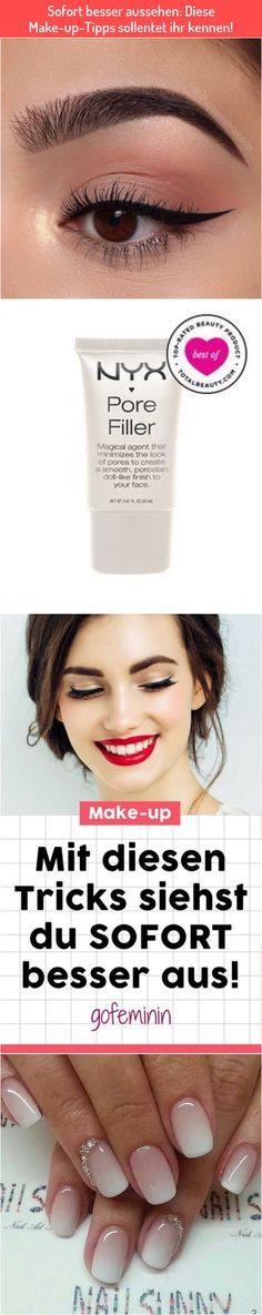 Sofort besser aussehen: Diese Make-up-Tipps sollentet ihr kennen! Best Makeup Primer, Best Makeup Products, Makeup Tricks, Maker, Tips, Make Up Tricks, Make Up Tips, Makeup Tips