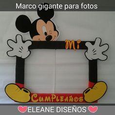 MARCO GIGANTE PARA FOTOS DE MICKEY