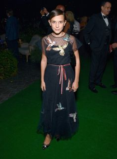 Millie Bobby Brown at The 68th Primetime Emmy Awards