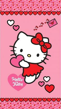 Best Iphone Wallpapers, Wallpaper Iphone Cute, Cartoon Wallpaper, Cute Wallpapers, Cellphone Wallpaper, Hello Kitty Art, Hello Kitty Pictures, Hello Kitty Items, Yamaguchi