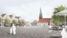 ein 1. Preis: Marktplatz Eutin, © Franz Reschke Landschaftsarchitektur