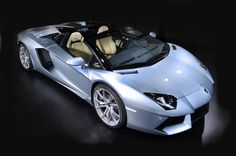 Lamborghini says the Aventador LP 700-4 Roadster has a top speed of 217 mph.