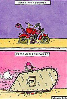 Male vs. Female Menopause
