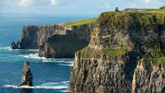 The Cliffs of Moher, Ireland, Where Harry and Dumbledore came in The Half-blood Prince. As seen on screen... it's all lights, camera, action in Ireland | Ireland.com