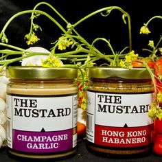 These specialty mustards by SoNo Trading Company sound so good!