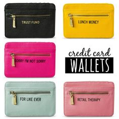 WHAT'S IN MY BAG? #whatsinmybag  Credit Card Wallets by Target