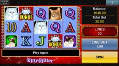 Complete review of the Kitty Glitter mobile slot.
