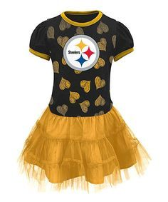 854e213beaf Outerstuff Pittsburgh Steelers Tutu Dress - Toddler