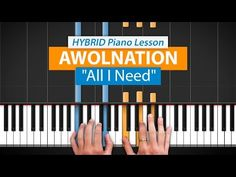 """""""All I Need"""" by Awolnation   HDpiano (Part 1) - YouTube"""